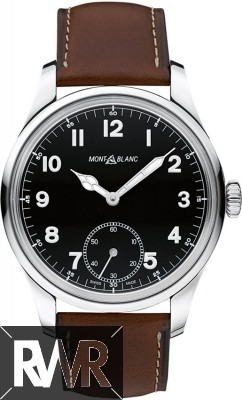 Fake Montblanc 1858 Manual Small Second Mens Watch 112638