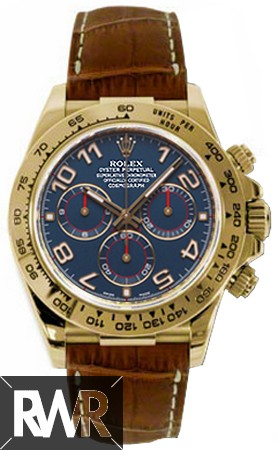 Rolex Oyster Perpetual Cosmograph Daytona 116518 Blue Dial Fake