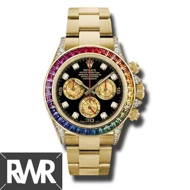 Replica Rolex Oyster Perpetual Cosmograph Daytona 116598 RBOW