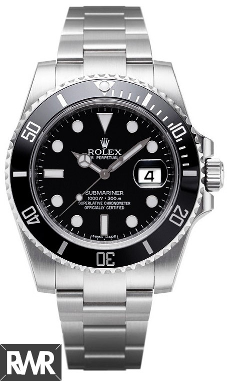 Rolex Submariner Date 116610LN-97200 Black Dial Watch Replica