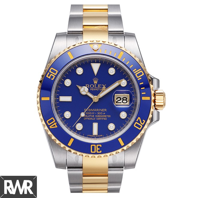 Replica Rolex Submariner 116613LB-97203 Blue Dial Automatic Men Watch