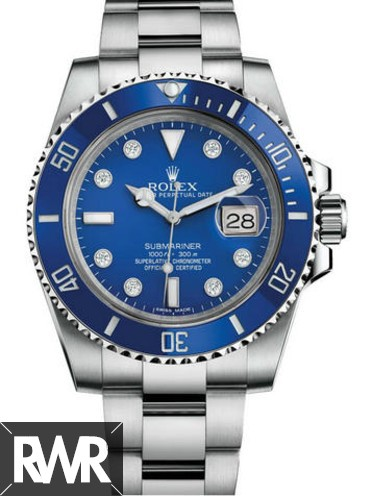 Replica Rolex Submariner Calendar Type 40MM watch 116619LB-97209 8DI