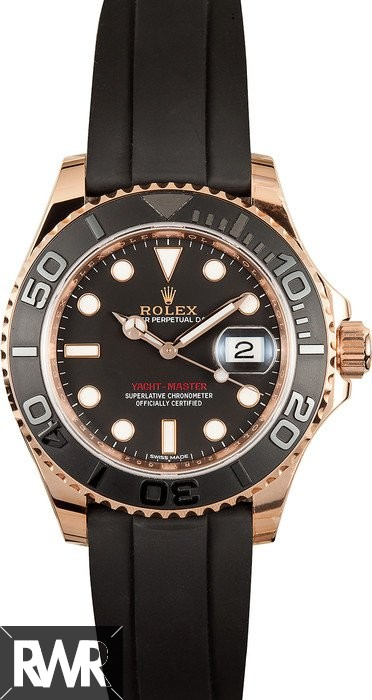 Replica Rolex Oyster Perpetual Yacht-Master 40 116655-Oysterflex bracelet