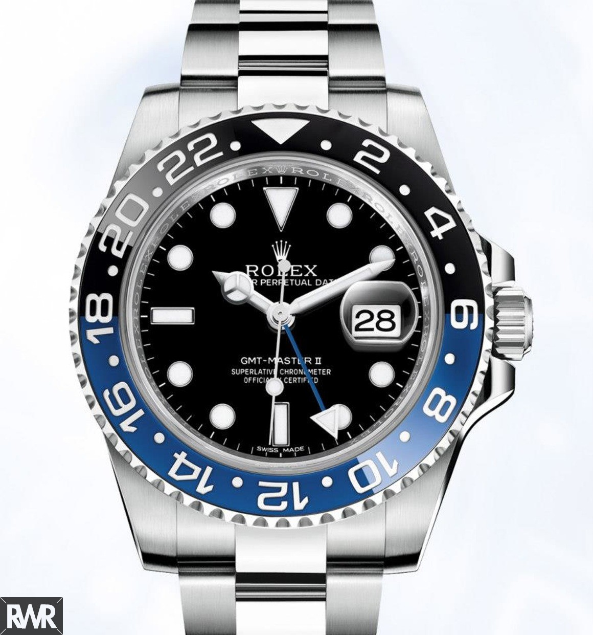 Rolex GMT-Master II 116710BLNR-78200 Black and Blue Cerachrom Bezel Automatic