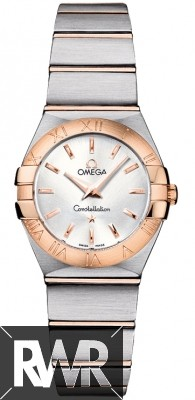 Replica Omega Constellation Brushed 24mm Ladies Watch 123.20.24.60.02.001
