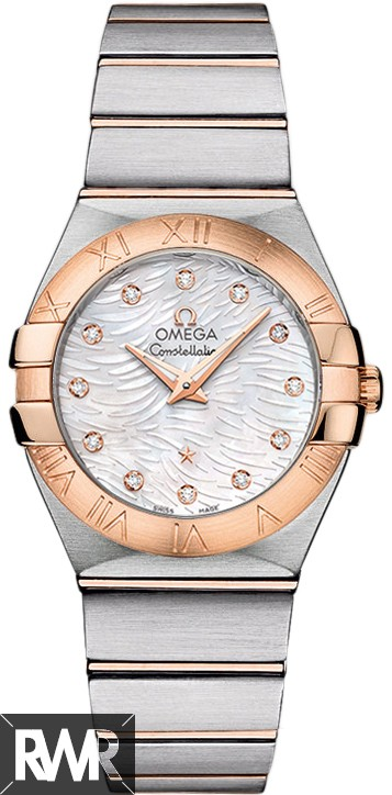 Fake Omega Constellation Brushed (27mm) Quartz 123.20.27.60.55.007