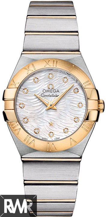 Fake Omega Constellation Pluma Quartz 27 mm 123.20.27.60.55.008