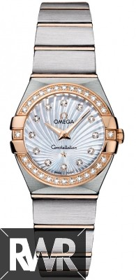 Replica Omega Constellation Brushed 24mm Ladies Watch 123.25.24.60.55.002