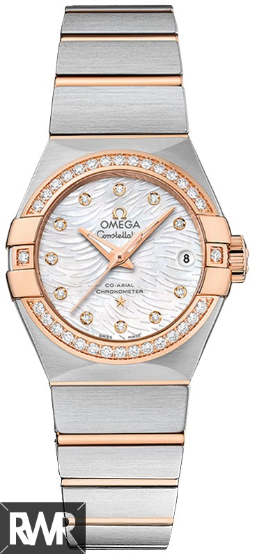 Fake Omega Constellation Co-Axial 27mm 123.25.27.20.55.006