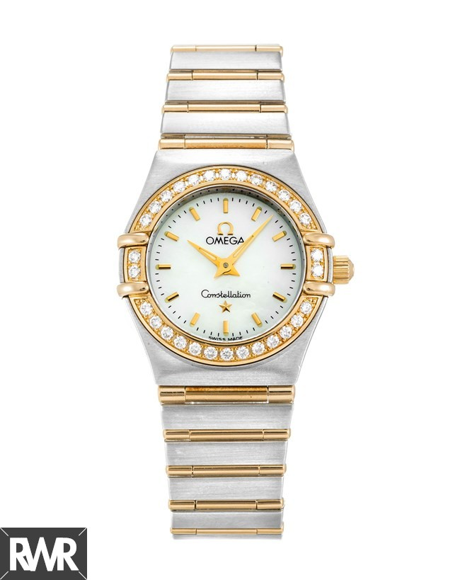 Fake Omega Constellation Ladies Diamond Mini Watch 1267.70.00