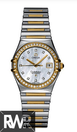 Fake Omega Constellation My Choice Ladies Watch 1396.75.00