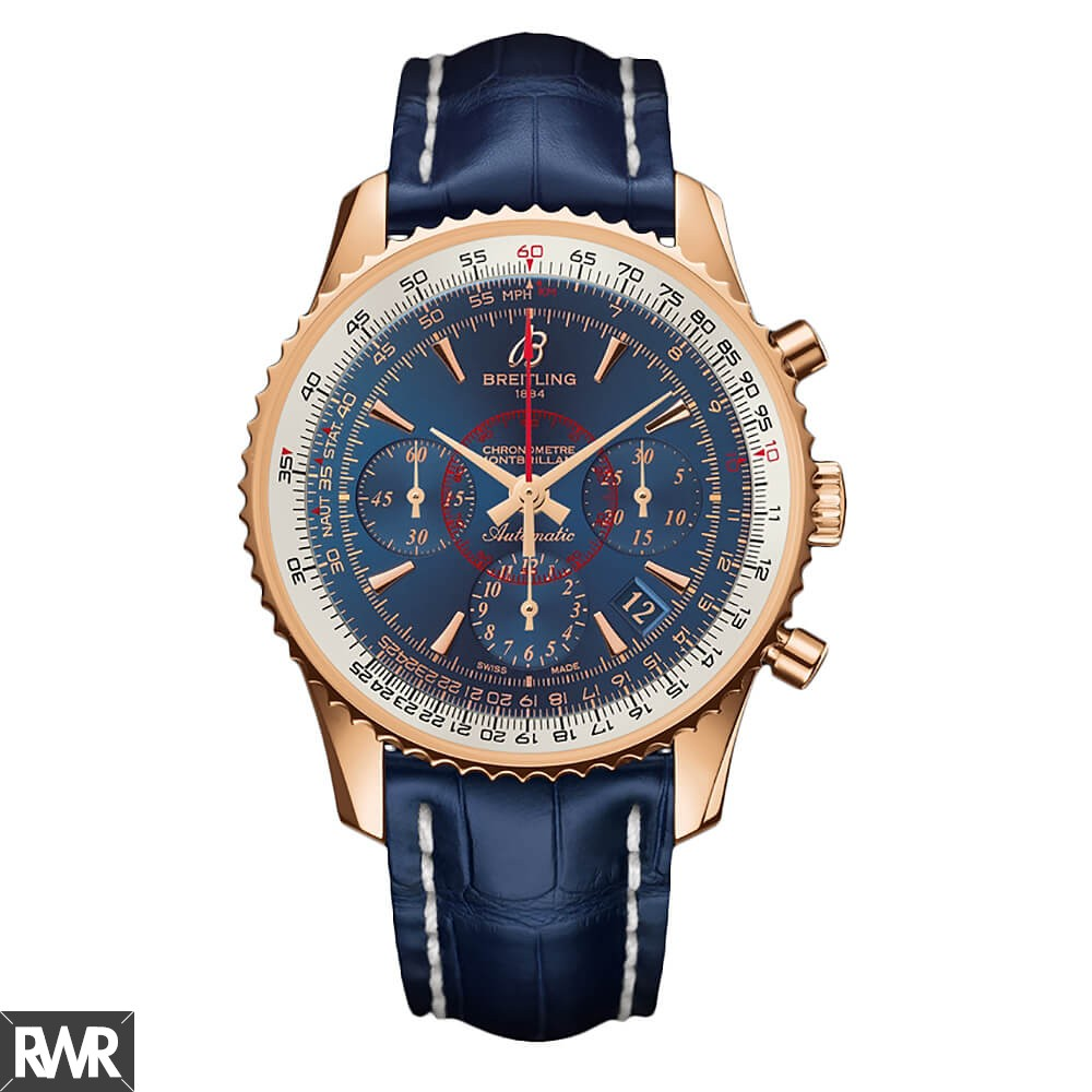 Breitling Montbrillant 01 RB013012/C896/718P/R18BA.1 Rose Gold clone Watch