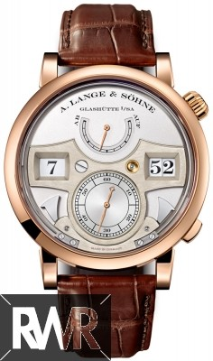 Replica A.Lange & Sohne Lange Zeitwerk Striking Time in Pink Gold 145.032