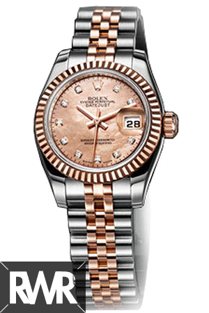 Replica Rolex Oyster Perpetual Lady Datejust Watch 179171-63131
