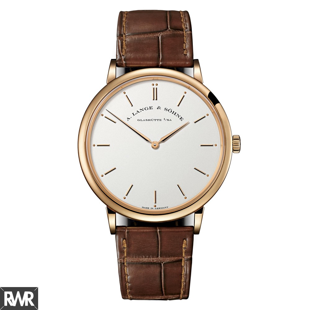 Replica A.Lange & Sohne Saxonia Thin Rose Gold 211.032