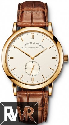 Replica A.Lange & Sohne Saxonia Manual Wind 37mm Yellow Gold 215.021