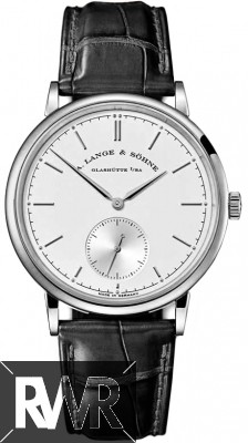 A.Lange & Sohne Saxonia Manual Wind 37mm White Gold Mens Watch 216.026 Fake