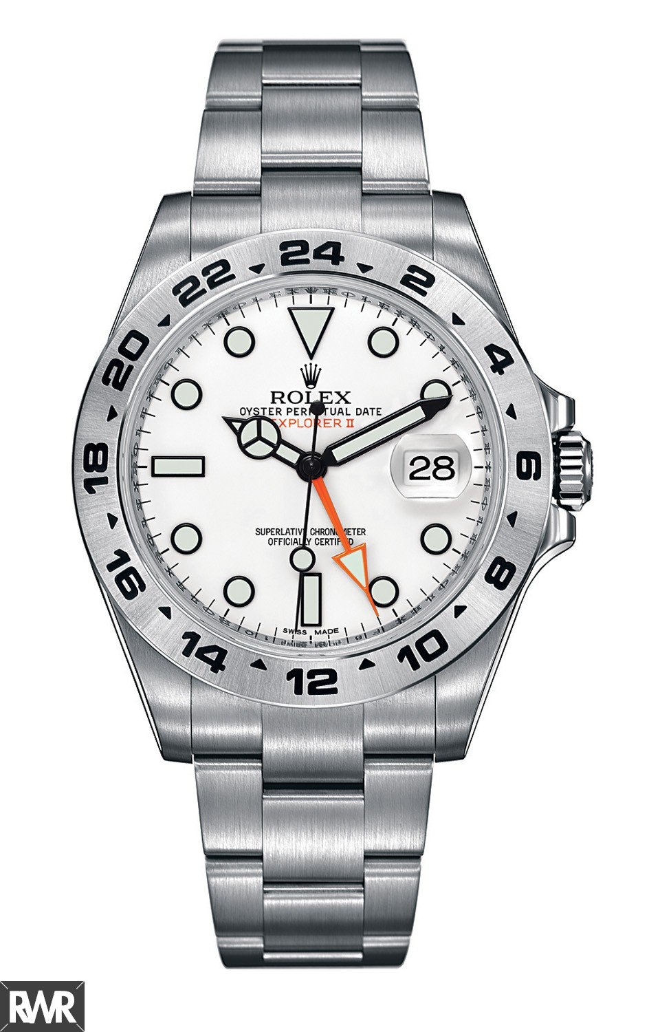 Rolex Oyster Perpetual Explorer II 216570–77210 White Dial