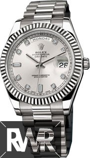 Replica Rolex Day-Date II 218239 White Gold Watch