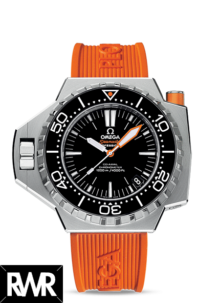 fake Omega Seamaster Ploprof 1200 M Chronometer Watch 224.32.55.21.01.002
