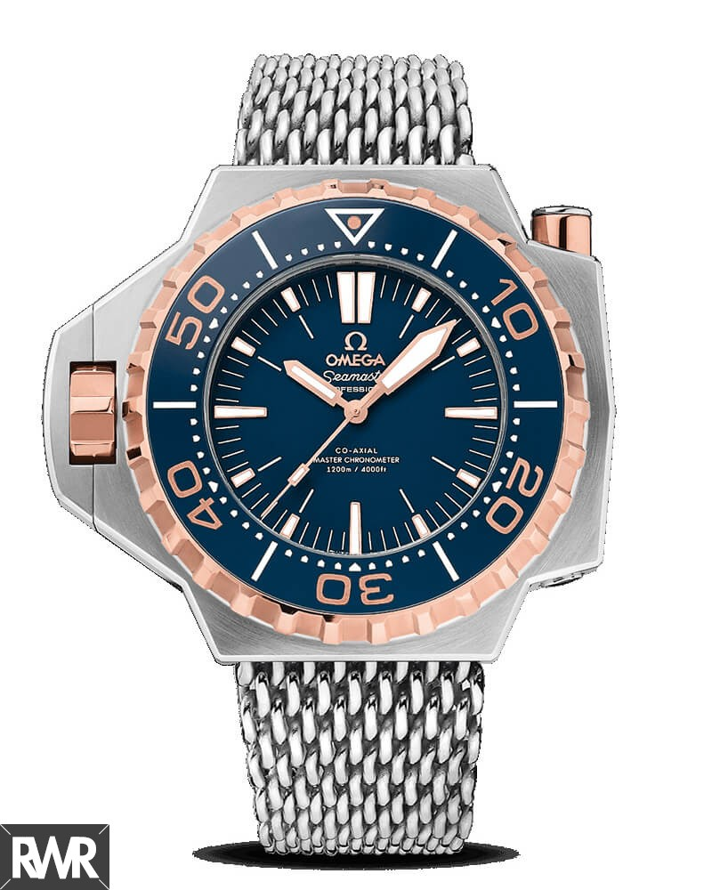 OMEGA Seamaster Ploprof 1200 M Co-Axial Master Chronometer 55 x 48mm fake watch 227.60.55.21.03.001