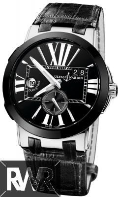 FakeUlysse Nardin Executive Dual Time Mens Watch 243-00/42