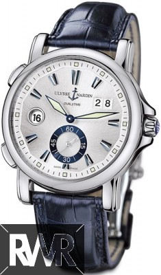 Replica Ulysse Nardin Dual Time 42mm Mens Watch 243-55/91
