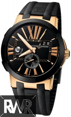 Replica Ulysse Nardin Executive Dual Time 43mm Mens Watch 246-00-3/42