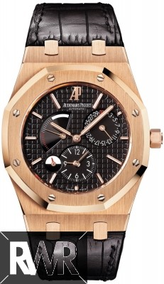 Fake Audemars Piguet Royal Oak Dual Time Power Reserve 26120OR.OO.D002CR.01