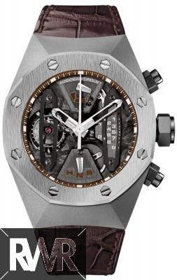 Replica Audemars Piguet Royal Oak Concept Tourbillon Chronograph 26223TI.OO.D099CR.01 Titanium