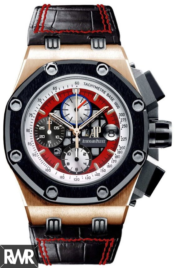 Replica Audemars Piguet Royal Oak Offshore Rubens Barrichello III 26284RO.OO.D002CR.01
