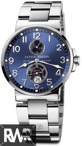 FakeUlysse Nardin Maxi Marine Chronometer Mens Watch 263-66-7/623