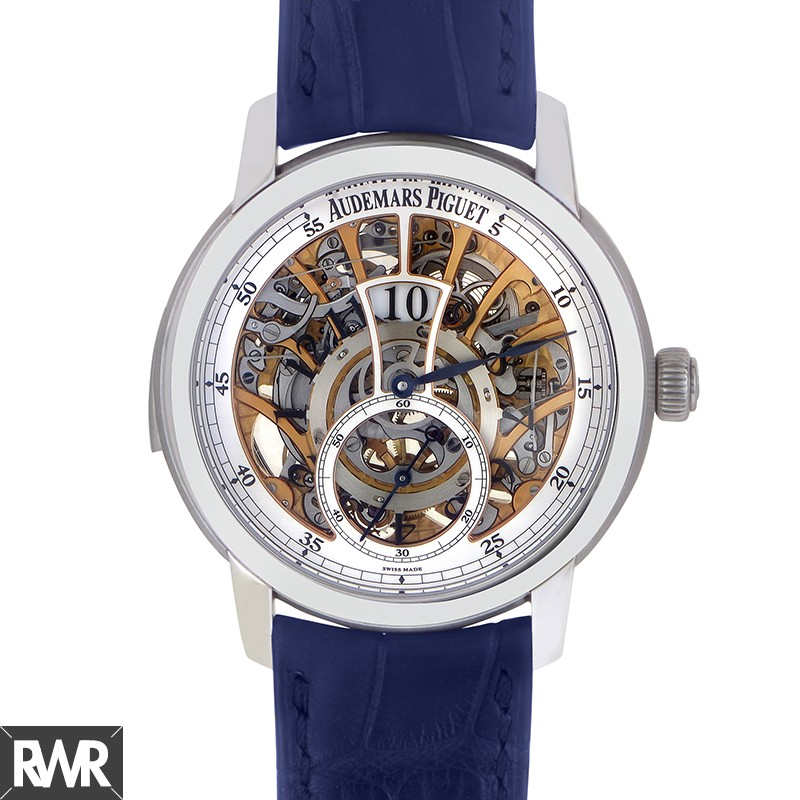 Replica Audemars Piguet Jules Audemars Minute Repeater Regulator 26356PT.OO.D028CR.01
