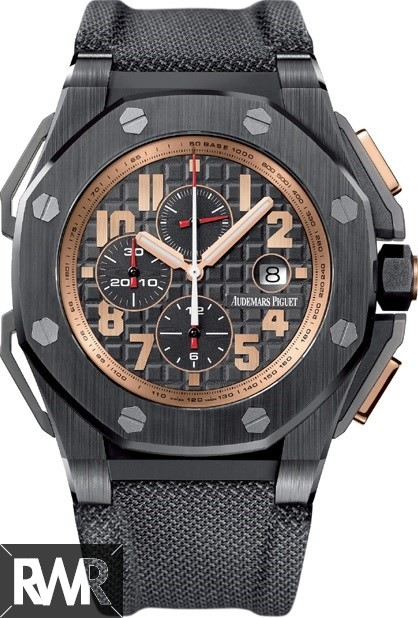 Replica Audemars Piguet Royal Oak Offshore Arnold Schwarzenegger The Legacy 26378IO.OO.A001KE.01