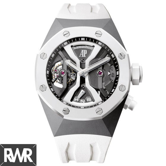 Fake Audemars Piguet Royal Oak Concept GMT Tourbillon 26580IO.OO.D010CA.01