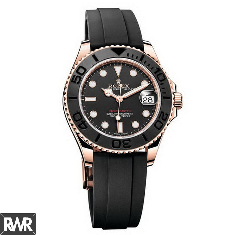 Replica Rolex Oyster perpetual yacht-master 37 268655-Oysterflex bracelet