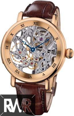 FakeUlysse Nardin Maxi Skeleton Mens Watch 3006-200