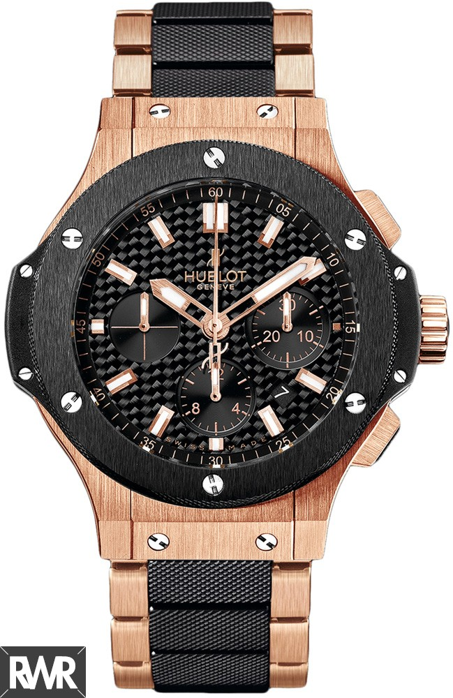 Replica Hublot Big Bang Red Gold Ceramic Bracelet 301.PM.1780.PM