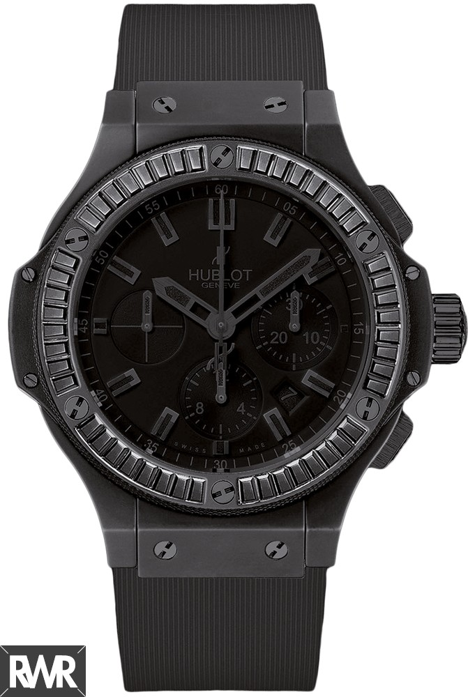 Replica Hublot Big Bang All Black Carat 44mm Evolution Watch 301.CI.1110.RX.1900
