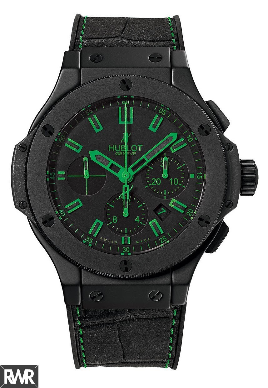 Replica Hublot Big Bang All Black Green 301.CI.1190.GR.ABG11