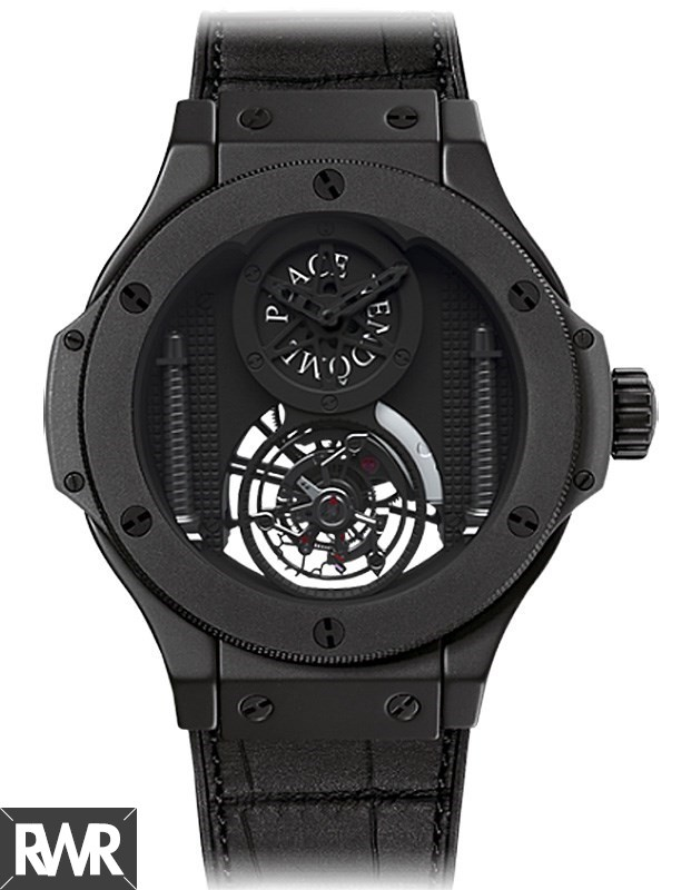 Replica Hublot Big Bang Vendome Tourbillon All Black 305.CI.0009.GR