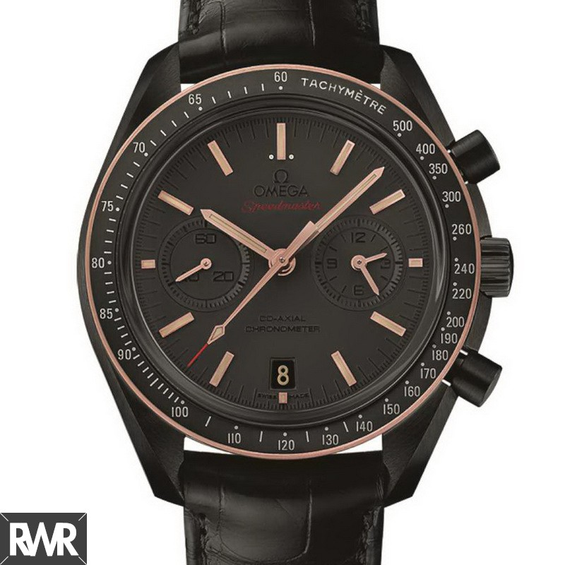 Fake Omega Speedmaster Dark Side of the Moon Sedna Black 311.63.44.51.06.001