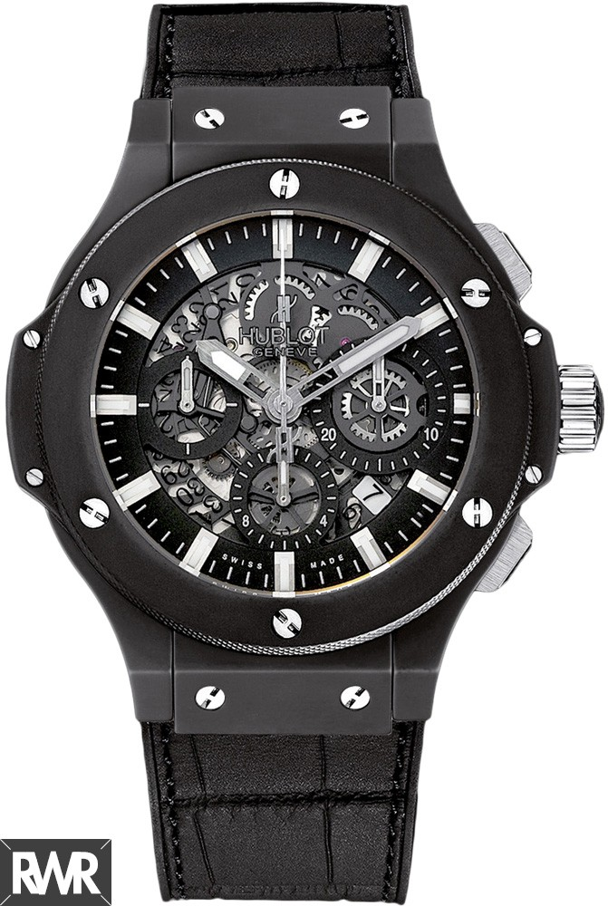 Hublot Big Bang Aero Bang Black Magic Watch  replica.