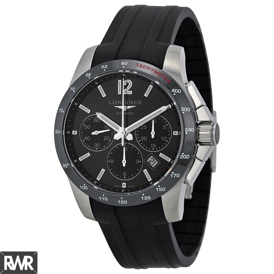 Longines Conquest Automatic Chronograph 41mm Mens Watch L2.744.4.56.2 Replica