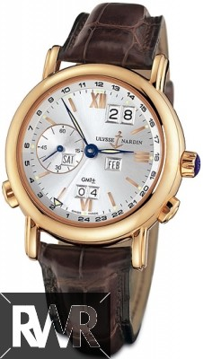 FakeUlysse Nardin GMT Perpetual Mens 40mm Watch 326-82/31