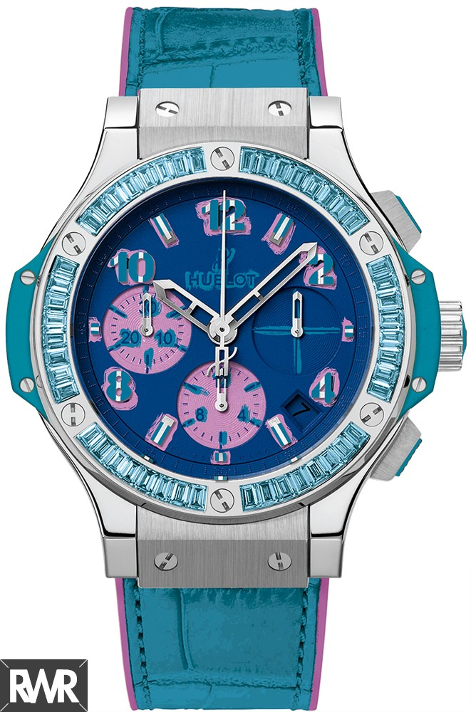 Replica Hublot Big Bang Pop Art Steel Blue 341.SL.5199.LR.1907.POP14