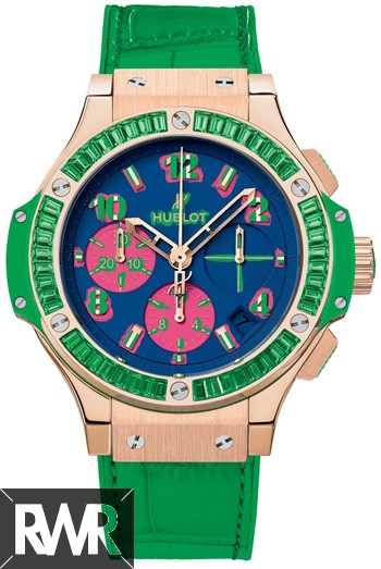 Replica Hublot Big Bang Pop Art Yellow Gold Apple 341.VG.5199.LR.1922.POP14