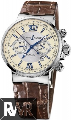 Replica Ulysse Nardin Maxi Marine Chronograph Mens Watch 353-66/314