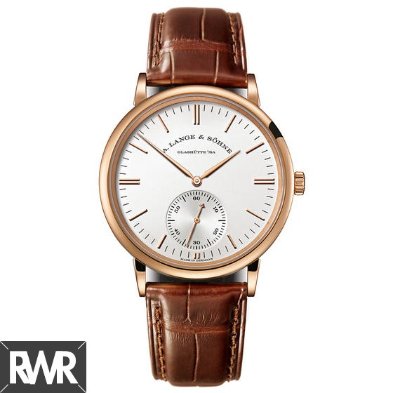Replica A.Lange & Sohne Saxonia Automatic Pink Gold 380.033
