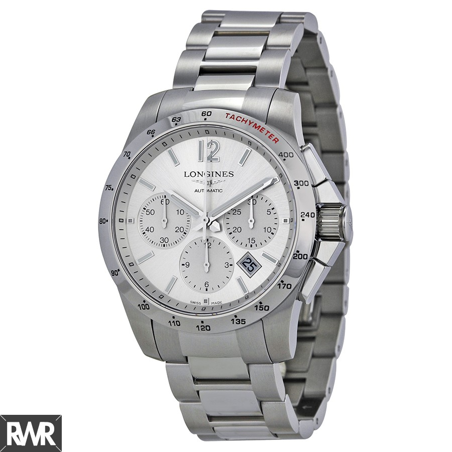 Longines Conquest Automatic Chronograph 41mm Mens Watch L2.743.4.76.6 Replica